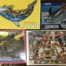 Set of 4 Unopened Puzzles