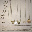 Lot of 17 Costume Jewelry