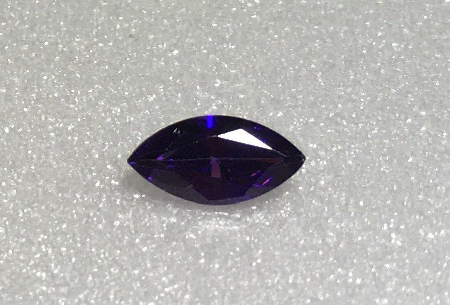 10x5mm Marquise Purple Cz 1.70ct