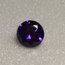 10mm Round Purple Cz 7ct