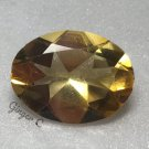 Citrine 16x12mm Oval 7.10ct