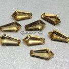 Citrine 10x5mm Tie/Coffin Cut