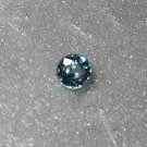 Blue Zircon 5mm Round 0.70ct