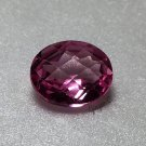 Pink Topaz 12x10mm Oval Checker Top 6.15ct