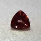 Salmon Topaz 10mm Trillion 4.35ct