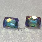 Mercury Mist Topaz 7x5mm Octagon