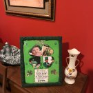 Saint Patrick's Day Decorative Photo Frame-3 interchangeable mat designs