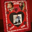 Valentine's Day Decorative Photo Frame- 3 interchangeable mat designs
