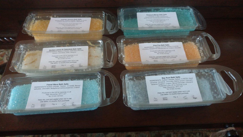 Luxe Bath Salts Six Pack
