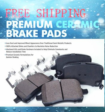 Acura CL Disc Brake Pad 2003-01 Front-All OE Pad Material Is Ceramic CFC1506