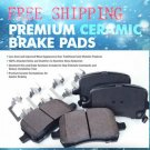 AUDI A4 Disc Brake Pad Disc Brake Pad 2003 	Rear-All FWD, w/o 255mm Brake Rotors	CFM1017