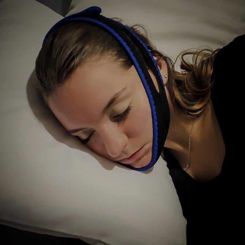Anti Snore Chin Strap Care Sleep Chin Jaw Supporter Apnea