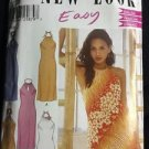 New Look Easy Pattern 6184 Adult A 6-16 Women's Halter Dress Keyhole