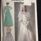 Simplicity Pattern 7936 Adult 14 Women's Dress Bridal Formal Wedding Vintage