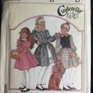 Simplicity Pattern 8766 H 7 8 10 Cinderella Girls Dress Vintage Frilly