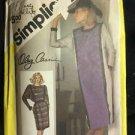 Simplicity Pattern 6570 Adult 16 Women's Dress Vintage Oleg Cassini