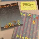 "Winnie The Pooh Scrapbooking Paper Pizazz Tops Bottoms Lot 8.5""X11"""