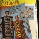 McCalls Pattern 8376 Costume Hershey's Kiss Reese's Bar Size 36 38 Medium Adult