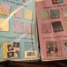 "Winnie The Pooh Scrapbooking Paper Pizazz Peek A Boo Tops Bottoms Lot 8.5""X11"""