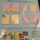 "Winnie The Pooh Scrapbooking Kit by Paper Pizazz Peek A Boo 8.5""X11"" 10 Pack"