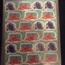 Disney Pixar Finding Dory 96 Stickers 4 Sheets of 24 Nemo Giant Squid