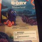 Finding Dory 295+ Stickers 4 Sheets Stickerland Nemo Squidry Stocking Stuffers