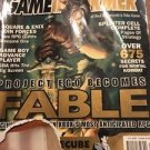 Gameinformer Jan 2003 11th Annual Video Game Awards Project ego Fable Xbox