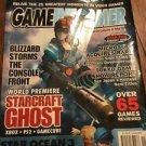 Gameinformer November 2002 Starcraft Ghost w/ML VG 072916DBE