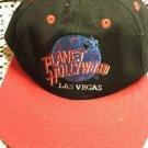 Planet Hollywood Las Vegas Hat SnapBack Black Red Adjustable Adult