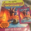 Goosebumps 54 Don't Go To Sleep Original 1st Edition 1997 Trading Card Pb