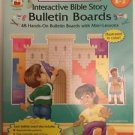 Interactive Bible Story Bulletin Boards Christian Education Resource Grades K-3