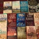 Lot Of 14 Nora Roberts Paperback Fiction Romance Dahlia Garden Macgregor Night T