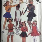 McCalls Pattern 2007 Size 8 Girls Costume Cheer Majorette Dress Skirt Vintage