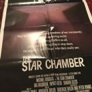 STAR CHAMBER Movie Poster 1983/ Michael Douglas, Hal Holbrook, Yaphet Kotto