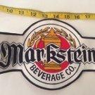 Vintage Patch Memorabilia  Markstein Beer Company Vendor Beverage Rockabilly