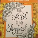 Adult Coloring Book Religious Inspirational Psalms Bible Scripture Stress Relief