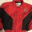 NC State Coat Jacket Red Black Competitor Adult Xl Flawed