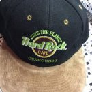Hard Rock Cafe Save The Planet Guangzhou Love Serve All Snapback Black Tan Hat