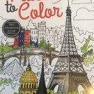 Adult Coloring Book Places To Color Travel Kappa Designer Series Stress Relief