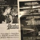 Stardust Memories 1980 Style C Review 1 Sheet Movie Poster Woody Allen Rampling