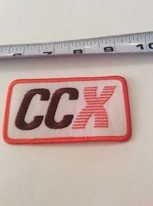 Vintage CCX Patch Collectible Memorabilia Transportation Rockabilly Americana