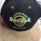 Hard Rock Cafe Save The Planet Shanghai Love Serve All Snapback Black Tan Hat