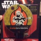 Star Wars Fire Division Night Light Lamp - NIB
