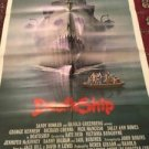 1980 DEATHSHIP original one sheet HORROR movie poster GEORGE KENNEDY