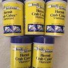 Tetra Terrafauna Hermit Crab Cakes Vitaminized Lot Of 5 1.58 Oz 45g Food Diet