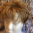 Gabor Wig Women's Short Pixie Light Brown All Hair Types Slightly Wavy