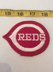 Patch Memorabilia Cinccinnati Reds Baseball Team Red White Americana