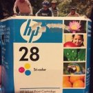 Genuine HP 28 Multi - Color Ink Cartridge SEALED Expired
