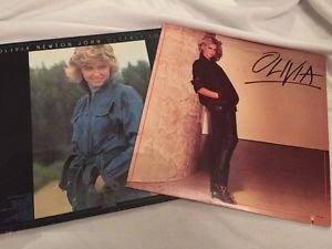 Olivia Newton John LP Vinyl Records Lot Of 2 Vintage Clearly Love Totally Hot
