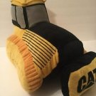 Pillow Pet Caterpillar Bulldozer Cat Yellow And Black Earth Mover Machine Plush